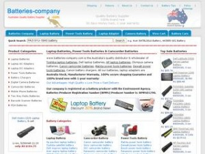 batteries company.com  300x225 Useful laptop battery troubleshooting tips