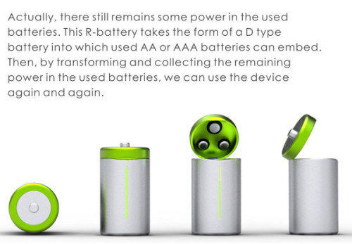 R Batteries R Battery concept resurrects old batteries   Battery News by batteries company.com