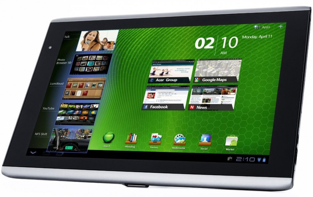Acer Iconia Tab A500 Acer Iconia Tab A500   A Multimedia Android Tablet