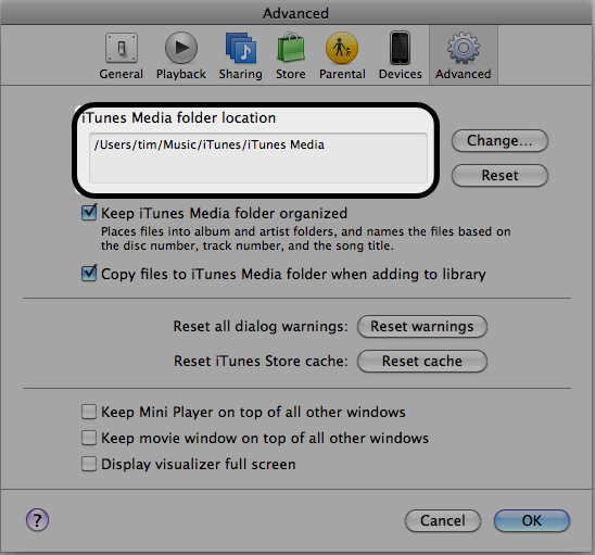 itunes media folder How to Sync iPad To a New Computer   iPad Usage Tips by batteries company.com
