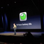 New iPad maintains 10 hours battery life